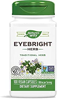 Nature's Way Eyebright Herb, 860 mg per serving, 100 Capsules