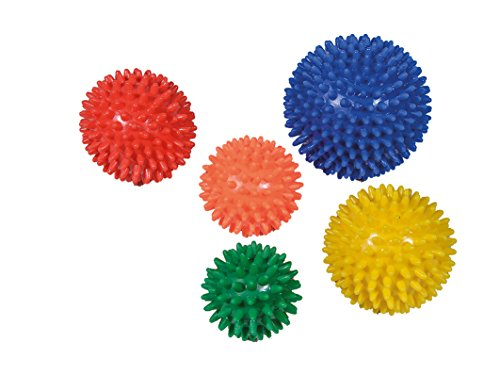 Pflegehome24® Igelball 5er-Set Igel-Ball Noppenball Massageball