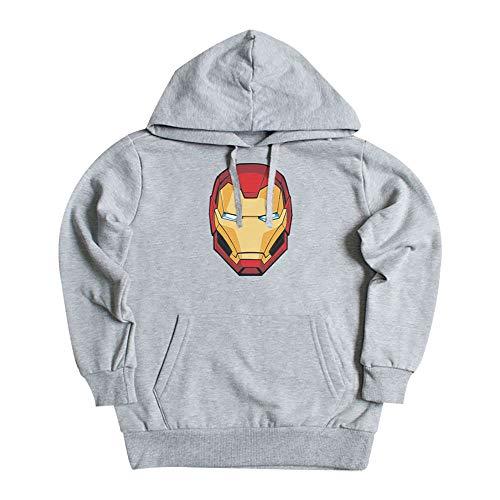 Máscara De Látex - Sudadera Iron Man Edición Limitada Iron Man Hoodie Niño - Talla 8