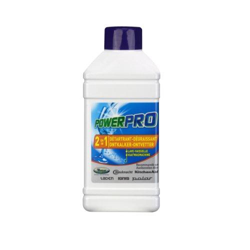 Wpro 97034 Lave-Vaisselle Entretien Détartrant et Dégraissant Lave Vaisselle