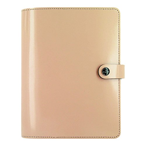 Filofax The Original Leather Organizer, Nude, A5 (8.25 x 5.75) Any Year Planner with to do and contacts refills, indexes and notepaper (C022387)