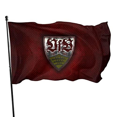 V-Fb Stu-Ttgart Familienflagge Gartenflagge Garten Gedruckt Welcome Party Fahne Deko Flaggen Wettkampf Flaggen