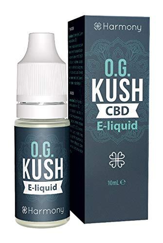 Weedness Harmony CBD Öl Liquid 300 mg OG Kush - CBD Liquid e Bio CBD Hanföl Vaporizer Starterset E-Zigarette