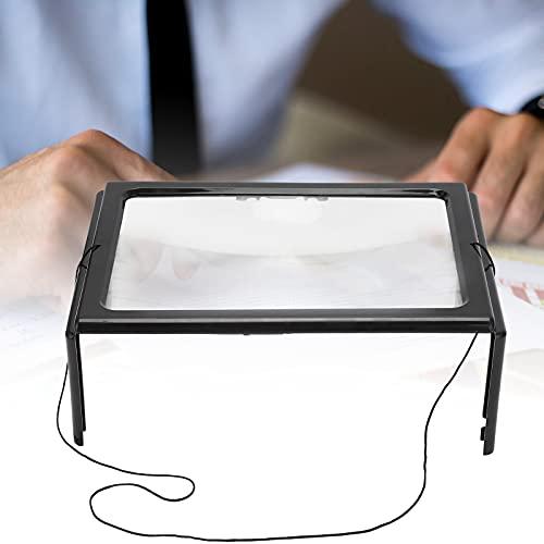 LED-loep, contractiel, duidelijk draagbaar vergrootglas met 4LED voor thuis voor buiten