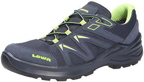 Lowa Innox Pro GTX Low Wanderschuh Farbe: stahlblau-Limone Gr.37 EU