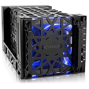 Icy Dock Black Vortex MB174U3S-4SB unidad de disco multiple ...