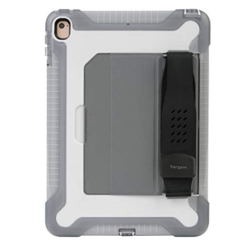Targus SafePort Rugged Case for iPad (6th gen/5th gen), iPad Pro (9.7-inch), and iPad Air 2, White/Gray (THD135GLZ)