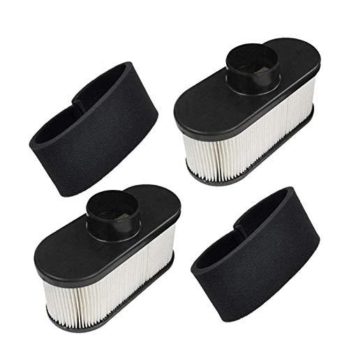 Fangxia Store AD-2 Paquete de 11.013 hasta 7047 filtro de aire con filtro de 11013 a 7046 Pre Fit for Kawasaki 99999-0384 FR651V FR691V FR730V FS481V FS541V FS600V FS6 ( Color : Black and White )