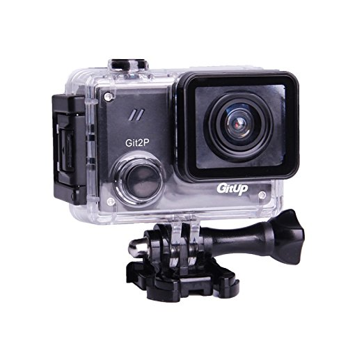 GitUp Git2P 90 Degree Lens Action Camera Pro Package