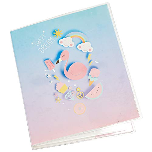Yosuny Álbum de Fotos de Bolsillos para Fujifilm Instax Mini 11 9 8 7s 25 50 70 90, Sprocket HP, Kodak Mini película de 3 Pulgadas (64 Bolsillos, Cisne)