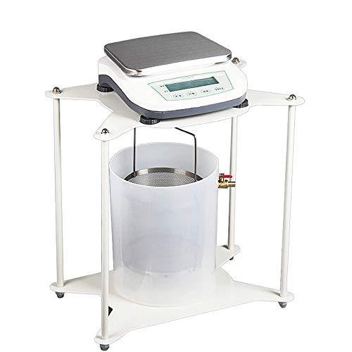 CGOLDENWALL 5kg 0.1g Báscula electrónica de equilibrio hidrostática con soporte para probar densidad sólida en la construcción de carreteras del laboratorio de la escuela de la industria