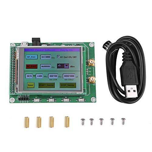 RF Sweep Signal Generator Modul Radiofrequenz Signalquelle Board 35 Mt zu 4,4G + STM32 TFT Farbe Touch LCD