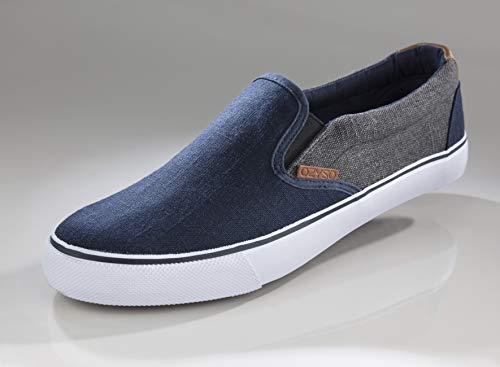 Canvas bootschoenen jeansblauwmaat 43