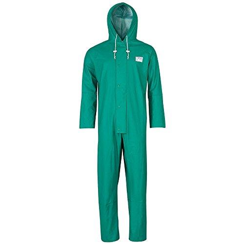 Schutzoverall grün Decontex® P 100, Kleidergröße : L, Farbe : grün