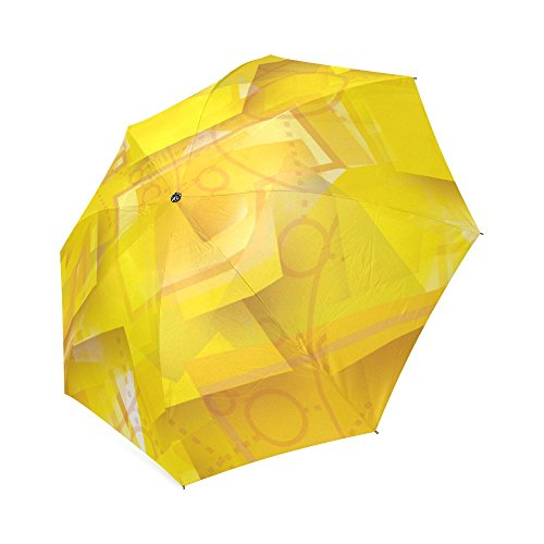 Wokfox Red Skull Custom Cool Design Portable Umbrella Fashion Folding Travel Umbrella