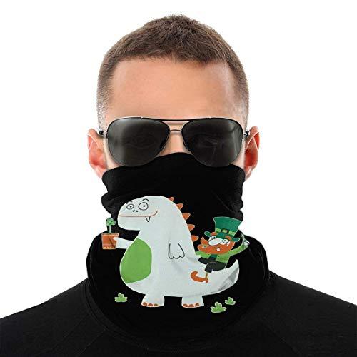 St. Patrick's Day Leprechaun Dragon Dustproof Windproof Bandane Sciarpa Multifunzionale Passamontagna Ghette Collo