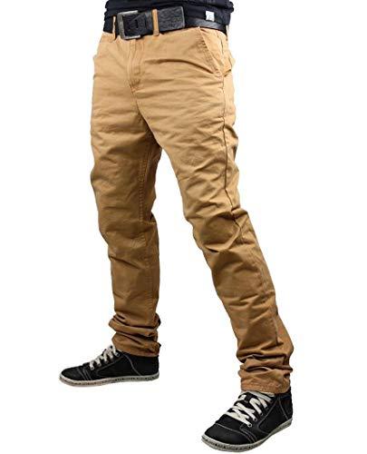Redbridge Herren Chino Jeans Hose Pants Baumwolle Freizeithose Braun 29/32