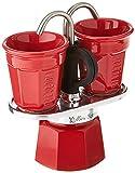 Bialetti Cafetera, Aluminio, Red
