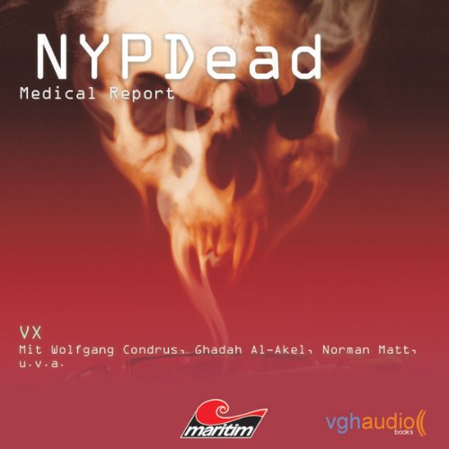 VX (NYPDead - Medical Report 5) audiobook cover art