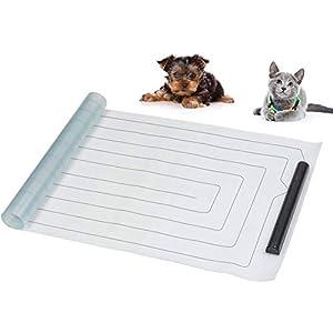 La La Pet Pet Shock Mat Indoor Pet Repeller Furniture Training Mat Pet Safe Scat Mat Pet Electronic Training Pad for Dogs and Cats