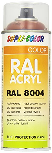 Dupli-Color 518522 RAL-Acryl-Spray 8004, 400 ml, Kupferbraun Glanz