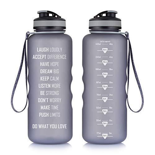 2 pezzi BLACK Dingo Borraccia 1000ml Sport Bottiglia 1 LITRI per Bottiglie Supporto