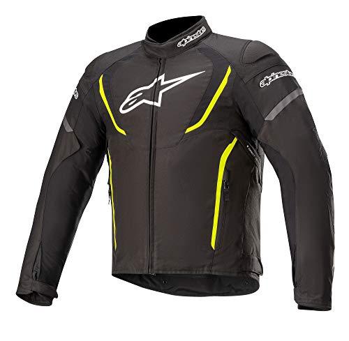Alpinestars Chaqueta moto T-jaws V3 Waterproof Jacket Black Yellow Fluo, BLACK/YELLOW/FLUO, XL...