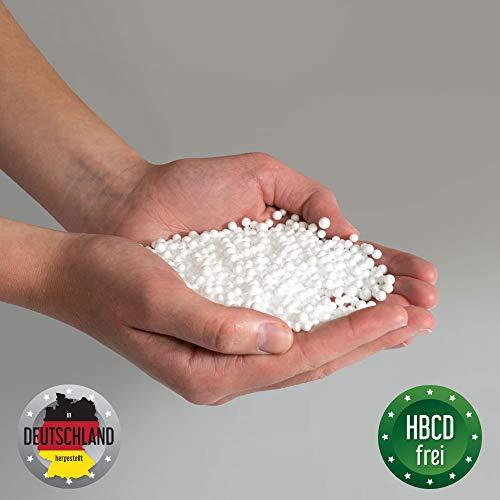 Bruni FILLcloud Sitzsack-Nachfüllpack (100 l) – EPS-Perlen aus Deutschland, Neuware, Verschiedene Größen, nachhaltige Sitzsack-Füllung