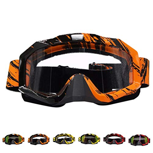 Outgeek Winter Sports Snow Ski Goggles Dustproof Unisex Riding Goggles Motorcycle Windproof Goggles