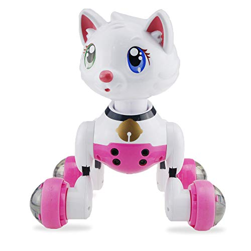 OD.zepp Sensor Inteligente de Control por Voz de Control del Gato del Robot, Activado por Voz Interactivo Novedad de Juguete niños para los niños