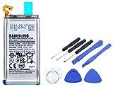 2in1-SET Akku für Samsung Galaxy S9 - Ersatzakku Li-Ion mit 3000mAh inklusive Werkzeug Set