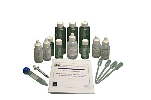 Portable Dissolved Oxygen Concentration Water Testing Kit - Material for 40 Tests