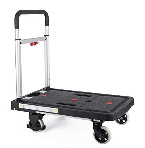 pavo Plattformwagen, Kunststoffplattform, Tragkraft: 150 kg VE = 1