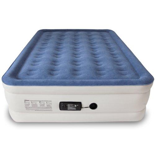 SoundAsleep Dream Series Air Mattress with ComfortCoil Technology & Internal High Capacity Pump (Blue, Junior)