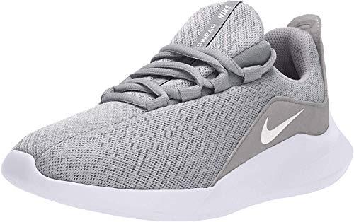 Nike Wmns Viale, Scarpe da Ginnastica Basse Donna, Grigio (Wolf Grey/White/Cool Grey 001), 39 EU