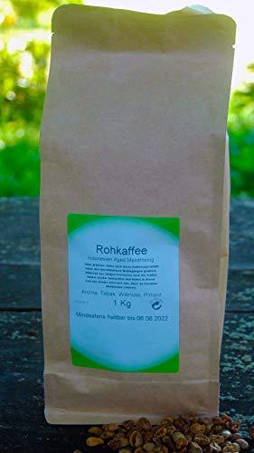 Naturix24 Rohkaffee aus Indonesien Aged Mandhleing 1 Kg