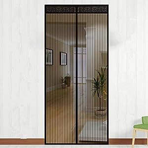 NASUM Mosquitera Puerta Magnética, Mosquitera Puerta, Mosquitera Ventana para Puertas de Salón, Balcón, Corredor (100 * 220cm)