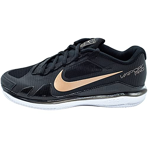 Nike Court Air Zoom Vapor PRO, Scarpe da Ginnastica Donna, Nero Combinato, 38 EU