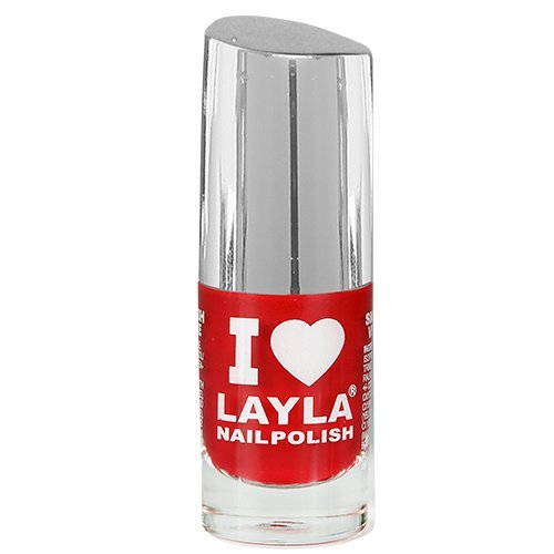 Layla Cosmetics I Love Layla Nagellack - red vamp, 1er pack (1 x 0.005 l)