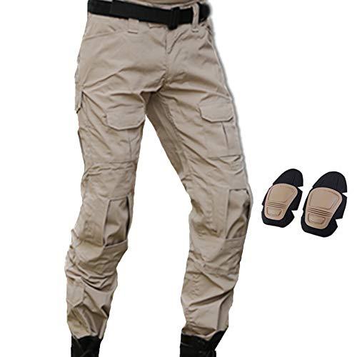 JOYASUS Pantalon Militaire Paintball BDU Pantalon Airsoft Pantalon Polyvalent...