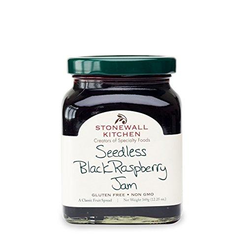 Stonewall Kitchen Seedless Black Raspberry Jam, 12 ounces