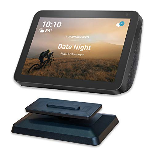 Echo Show 8 Stand - Black Easily Tilt Your Echo Show 8 to Improve Viewing Angle Kovake for Echo Show 8 Adjustable Stand
