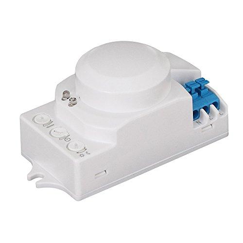 Bioledex 12 VDC Mikrowellen Bewegungsmelder Hochfrequenz HF-Sensor