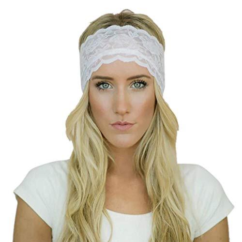 Venmo Ladies Pointed Sport Yoga Stretch Bande Bandeau Gym De Vêtements de fête Cheveux Bandeaux Main Main Tenir Coton Mixte Bande De Cheveux Tricoté Twisted Doux Turban Head Wrap