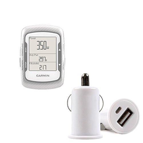 DURAGADGET Chargeur Voiture USB pour GPS Garmin Edge 500, 510 & Edge Touring Plus Compteur de vélo connecté