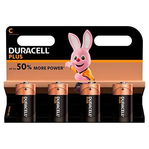 Duracell Baby C/LR14/AM2/4014/ 1,5 V Alkaline Batterie (4x)