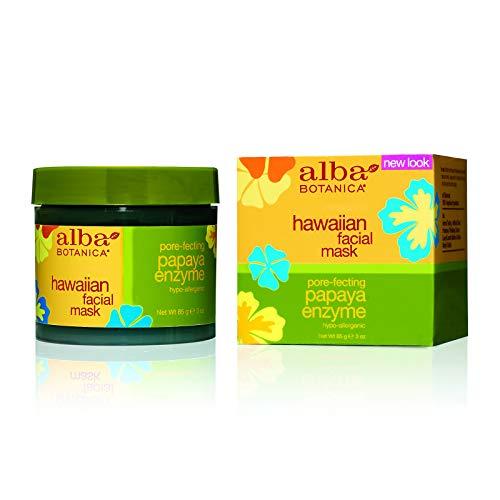 Gesichtsmaske, Papaya-Enzym, 3 oz (85 g) - Alba Botanica