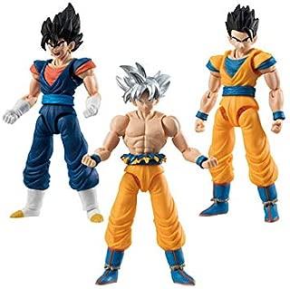 Dragon Ball Shodo Vol. 6-3 Figuren im Set : Vegetto, Ultimate Gohan, Ultra Instinct Son Goku Combinación - Original