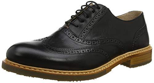 Neosens Dakota Kerner, Zapatos de Cordones Oxford para Hombre, Negro (Black S598), 44 EU