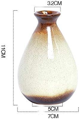 Amazon.com: Three Hands 99678 - Jarrón de cerámica, color ...